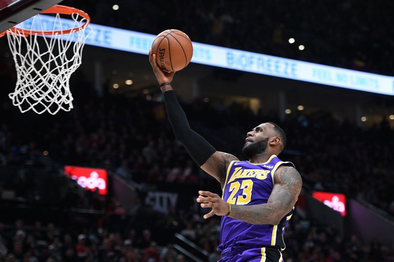 PMG FILE PHOTO: CHRISTOPHER OERTELL - LeBron James and the Los Angeles Lakers are not short on challengers in the tough NBA Western Conference.