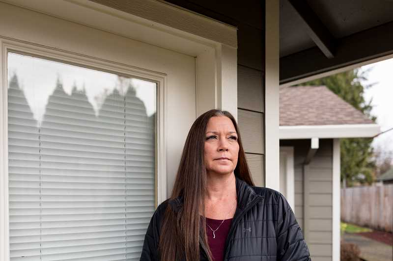 COURTESY PHOTO: CELESTE NOCHE/NPR - Kimberly Conger, the nurse manager for Sarah McSweeney's group home, objected when a doctor said the disabled woman needed to be on a ventilator but then questioned her quality of life: 'I feel like they didn't feel like she was worth that.'