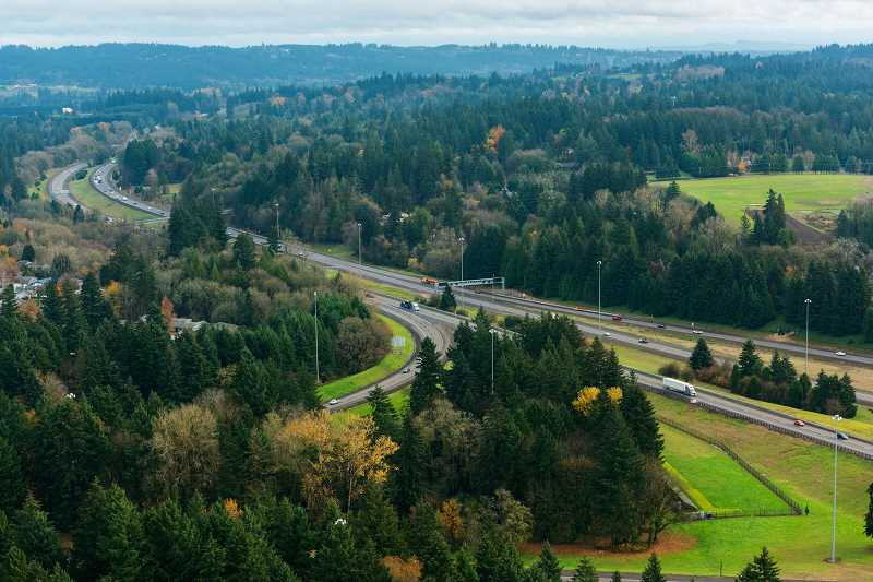 COURTESY PHOTO: ODOT - Tolls may appear on Interstate 205 as soon as 2024.