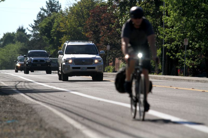 FILE PHOTO - The column writer believes Oregon transportation dollars should be spent on alternative projects and programs.