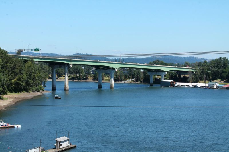 PMG FILE PHOTO - Would you pay to use this bridge? How much? And how would you like to see the toll collected?