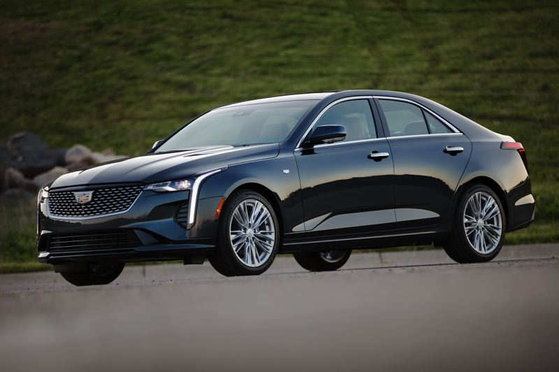 COURTSY CADILLAC - The Cadillac CT4 is designed to appeal to a new generation of buyers with crisp styling, two available turbocharged engines, a choice of rear-wheel or all-wheel-drive, and practically every available automotive technology.