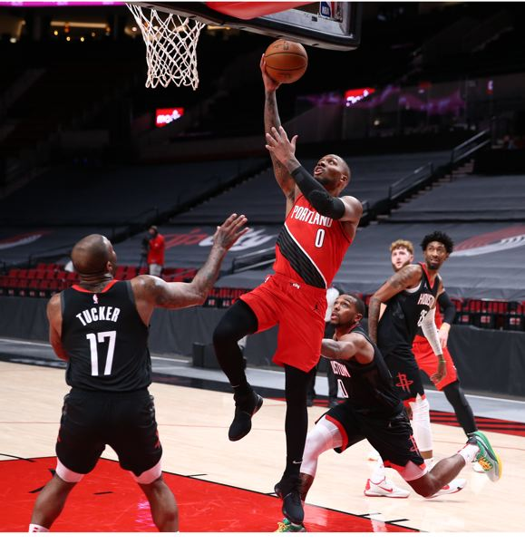 COURTESY PHOTO: BRUCE ELY/TRAIL BLAZERS - Coach Terry Stotts trusts Damian Lillard to know when to shoot and when to pass in key moments.