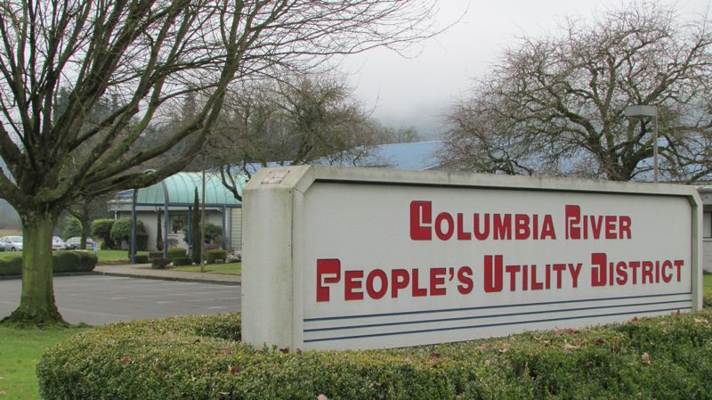 SPOTLIGHT PHOTO: MARK MILLER - The Columbia River People's Utility District administrative office in Deer Island.