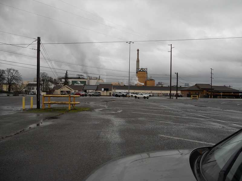 PMG PHOTO: SCOTT KEITH - The Cascades Tissue Group mill is located on Kaster Road in St. Helens