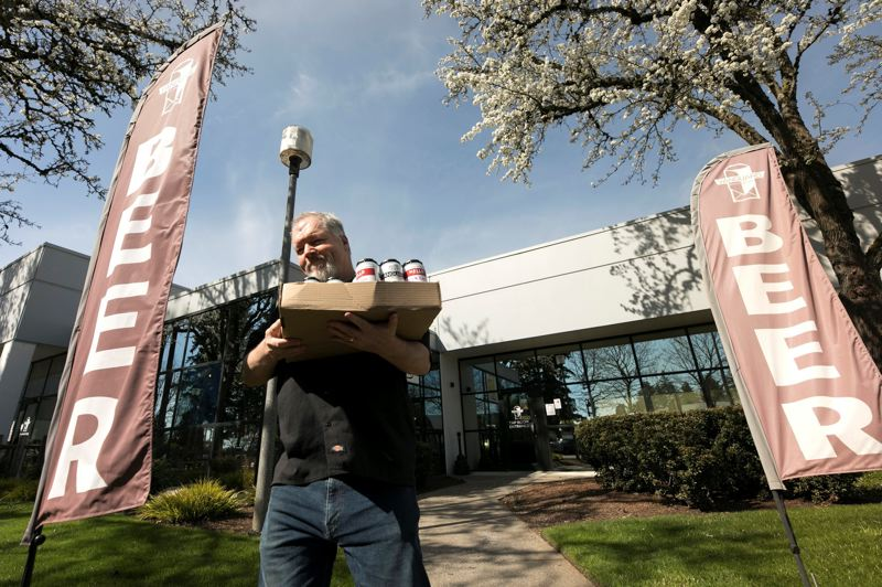 PMG FILE PHOTO - Wilsonville restaurants, like Vanguard Brewing, had to adjust to providing mostly takeout and delivery orders in 2020.