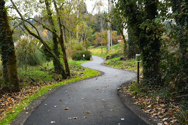 COURTESY PHOTO: DAVE ARPIN - Roehr City Park's pathway reopened after improving the path in November.