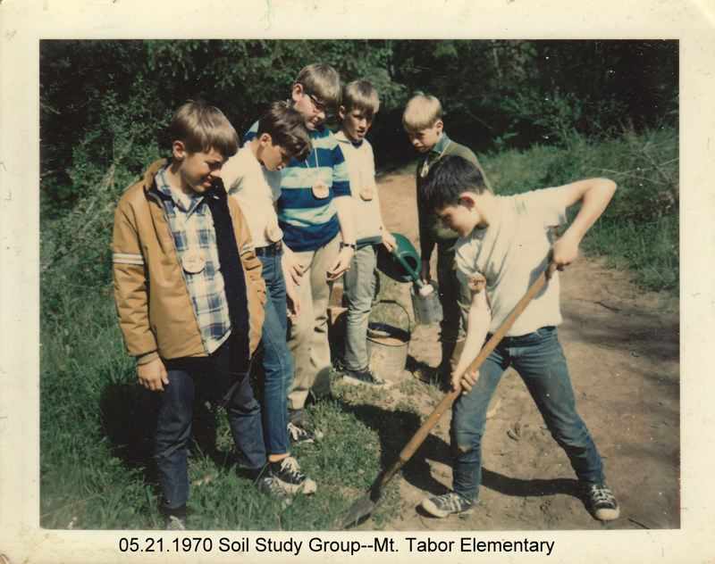 COURTESY PHOTO: MULTNOMAH COUNTY EDUCATION SERVICE DISTRICT  - Outdoor School has been a popular part of Oregon kids education for decades as this 1970s eara photo shows.