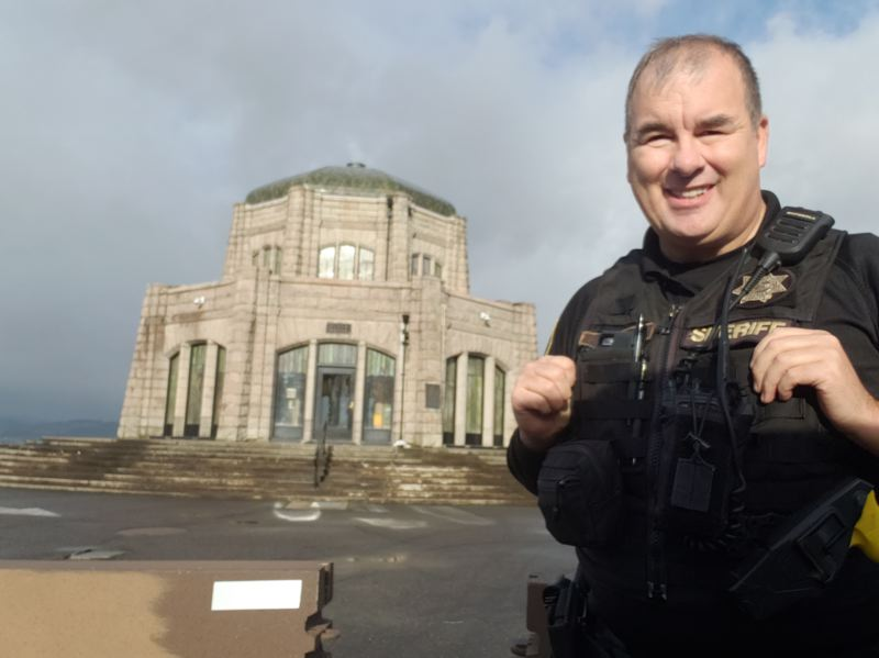 COURTESY PHOTO: JOSEPH KAISER  - With more than 18 years experience in law enforcement, Multnomah County Sheriffs Deputy Joseph Kaiser will take on the duties as community resource officer for Corbett and surrounding areas starting Monday, Jan. 11.