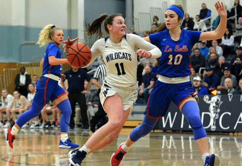 PMG FILE PHOTO - As a junior, Wilsonville guard Keira McNamee helped lead the Wildcats to an NWOC co-championship and a berth in the Class 5A state tournament.