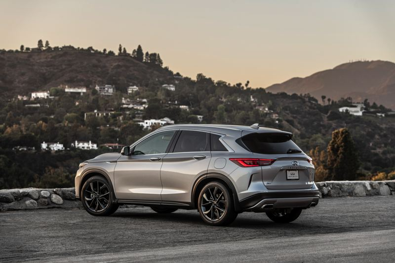 COURTESY INFINITI - The 2021 Infiniti QX50 can be ordered with front-wheel-drive or all-wheel-drive.