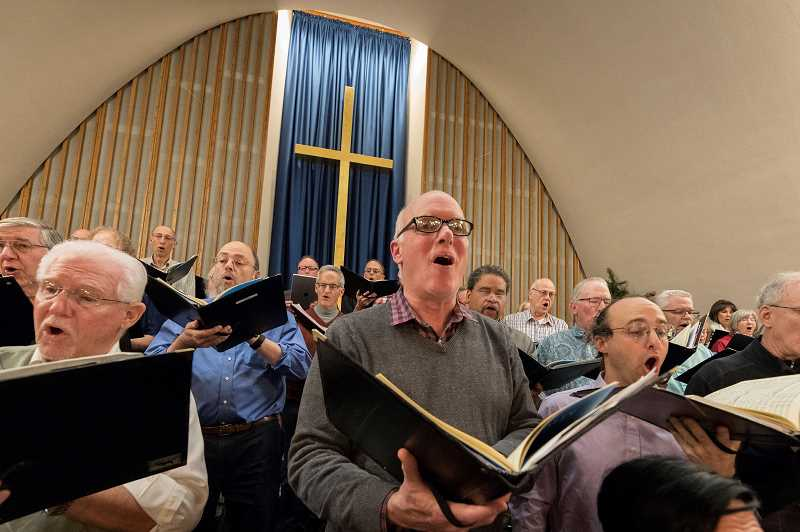 PMG FILE PHOTO - In the spring, ISing Choir wanted to make sure members were protected from COVID-19. The choir now uses a special program to help singers practice at home.