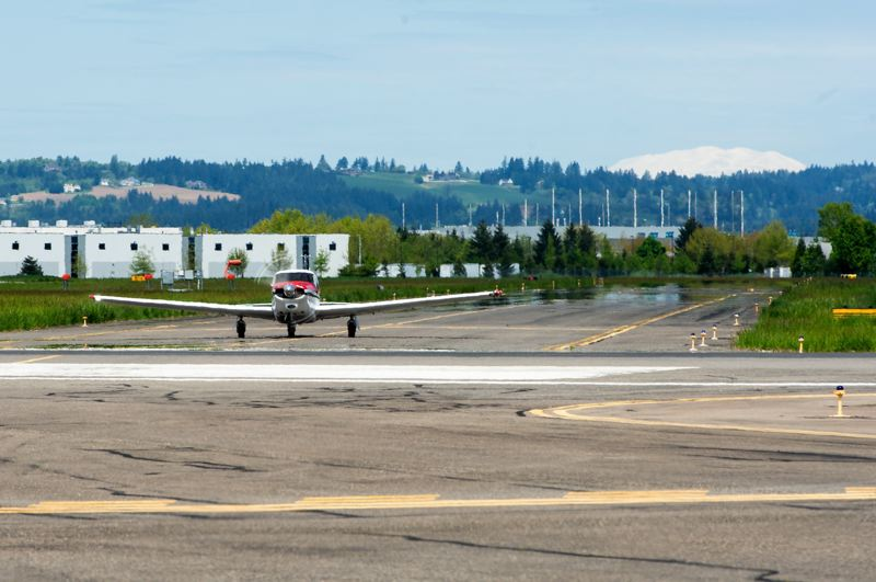 PMG FILE PHOTO: - The Hillsboro Airport, Oregon's second busiest airport, is home to multiple flight school programs.