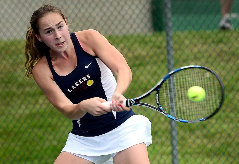 PMG FILE PHOTO - As a high school player at Lake Oswego, Katie Day won a Class 6A state doubles championship as a senior and finished second in the 6A singles draw as a junior.