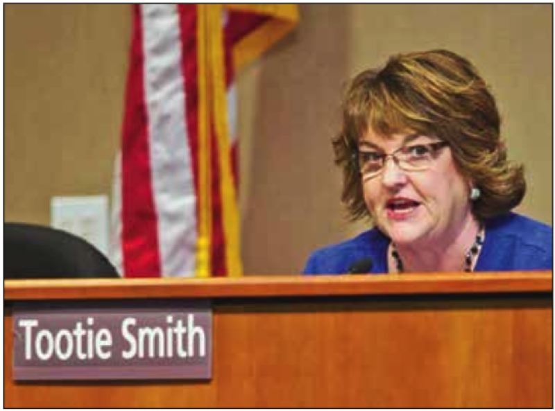PMG FILE PHOTO - Letter-writer: Tootie Smith's comments, comparing the state's efforts to slow the spread of the coronavirus to Nazi's and the Gestapo, are ludicrous and an insult.