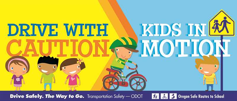 COURTESY GRAPHIC: ODOT - The Safe Routes to School program exists in Oregon to improve the routes to schools in typically low-income neighborhoods, making it easier for students to walk or bike to school and reducing emissions.