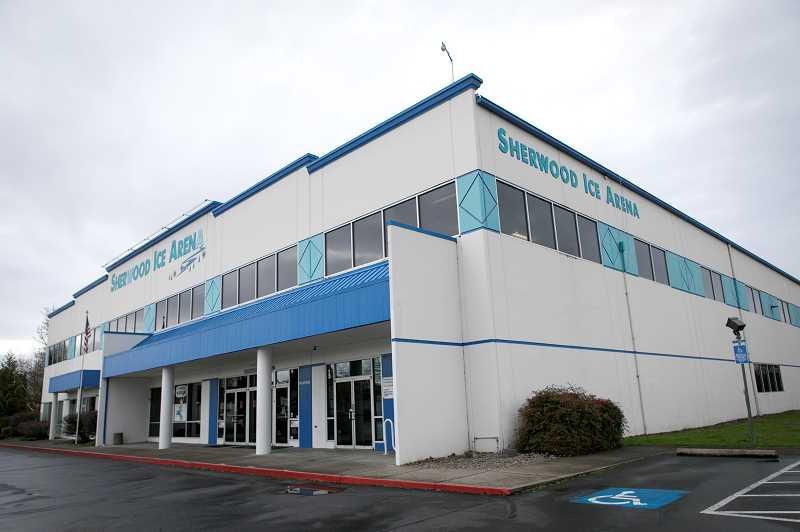 PMG PHOTO: JAIME VALDEZ - The Sherwood Ice Arena offcial shut its doors on Dec. 17 after two decades due to a drop in attendance due to the COVID-19 pandemic