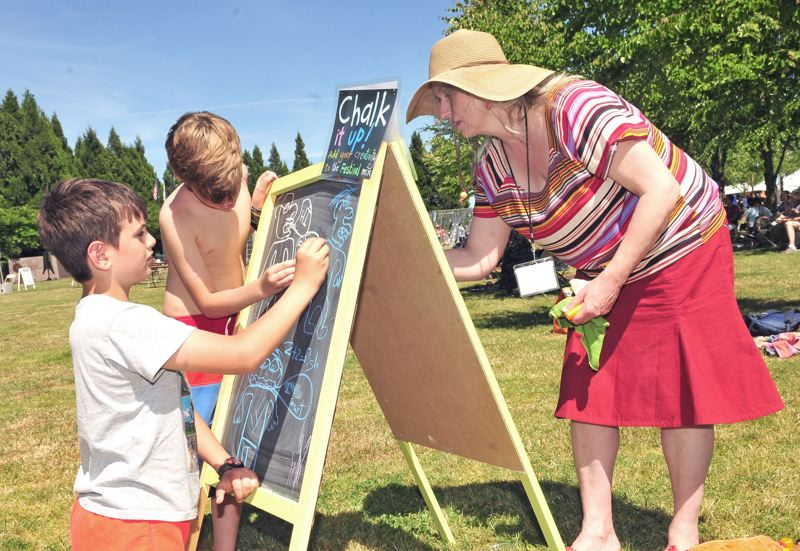 PMG FILE PHOTO - The Wilsonville Festival of Art won't take place for the second consecutive year.