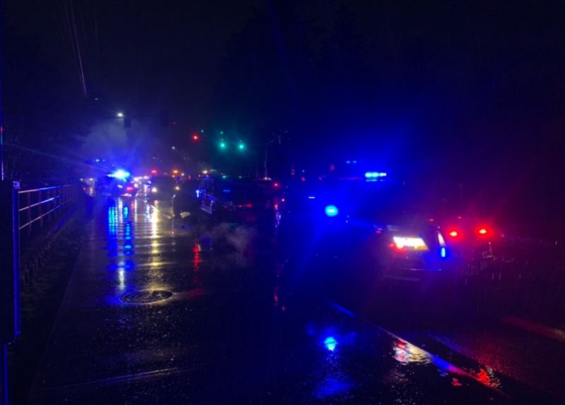 VIA TIGARD POLICE - Tigard police were involved in a deadly shooting Wednesday night near Soutwest Hall and Bonita Road. One man was reported dead at the scene.