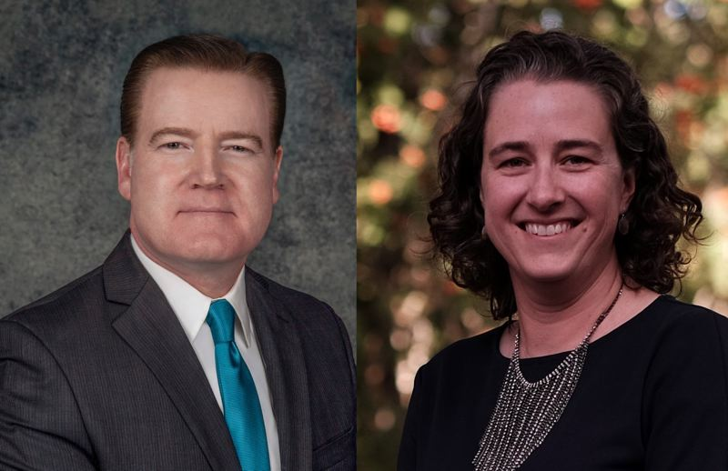 COURTESY PHOTO: CITY OF GRESHAM - Bryan Montgomery and Ann Ober, the finalists to become Gresham City Manager.