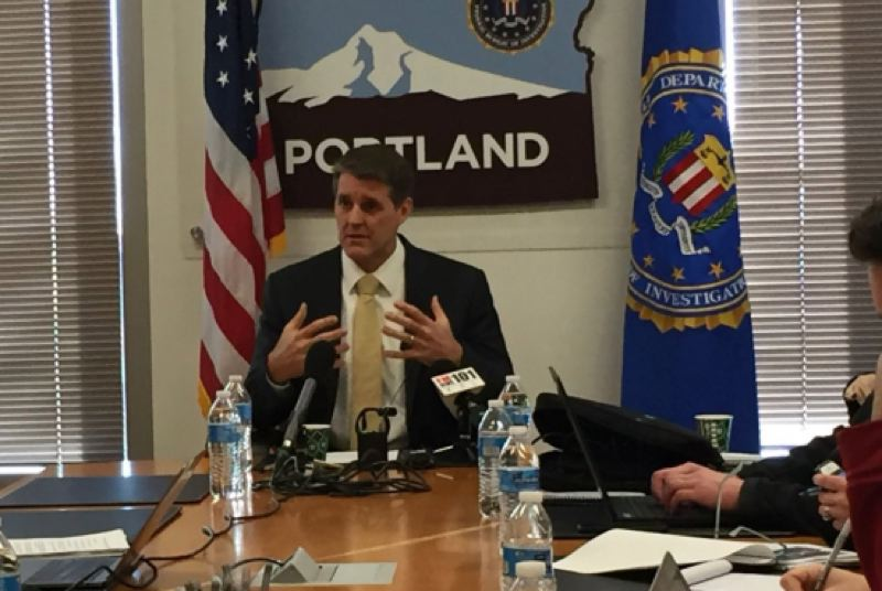 COURTESY: KOIN 6 NEWS - Portland FBI Special Agent in Charge Renn Cannon