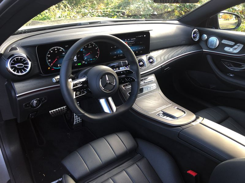 PMG PHOTO: JEFF ZURSCHMEIDE - Interior highlights include a new 12.3-inch dual widescreen display and completely new steering wheel with capacitive touch-sensor technology.
