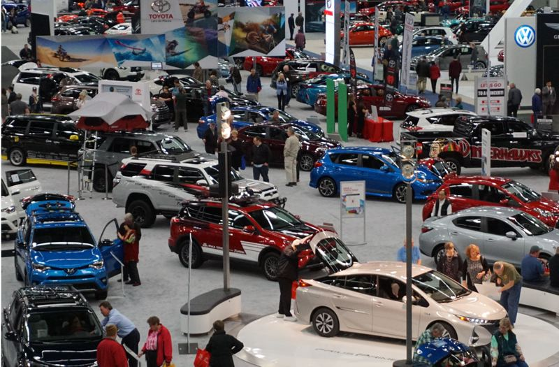 COURTESY PHOTO: MPNCDA  - The Portland international Auto Show is the largest display of new vehilces in the region.