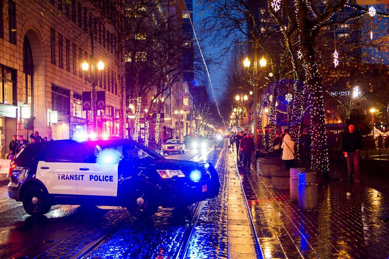 FILE - A Portland Police squad car is shown here.