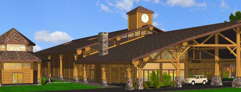 COURTESY PHOTO - Pastor Joe Wardlow has a dream to build a log church in Oregon City and is fundraising $2.6 million to purchase an 8.5-acre location on Beavercreek Road.