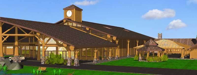 COURTESY PHOTO - Trails End Log Church's nearly $20 million budget includes $8 million for a main auditorium with a planned capacity of 800 people.