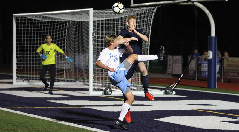 PMG PHOTO: MILES VANCE - If high school soccer is allowed to return to action in March, the gap between OSAA-sanctioned contests in the sport will measure more than 15 months.