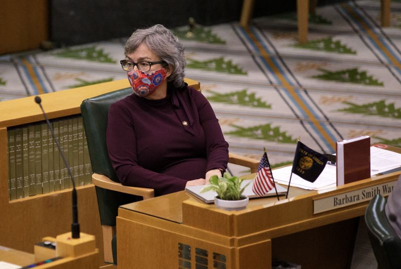 TRIBUNE FILE PHOTO - Oregon House Majority Leader Barbara Smith Warner is part of a Democratic leadership team during what promises to be a historically unprecedented legislative session. She'll speak on Monday in a City Club moderated virtual discussion.