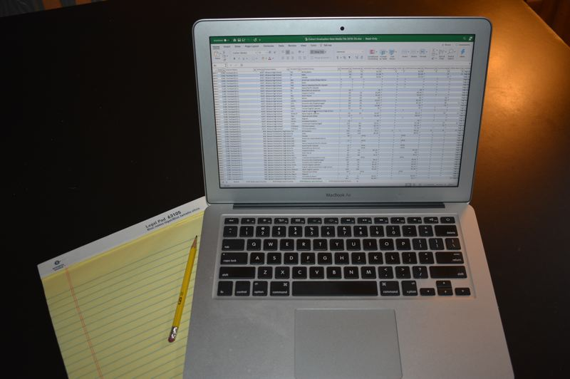 PMG PHOTO: TERESA CARSON - Learn how to use Excel spreadsheets in a series of workshops beginning Friday, Feb. 5, hosted by the Multnomah County Library. See listing for details.