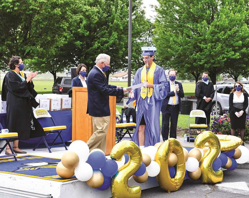 CENTRAL OREGONIAN - The Crook County High School Class of 2020 overcame some unique challenges, but still got to celebrate graduation.