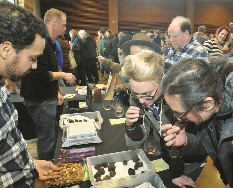 """PMG FILE PHOTO - February had been dubbed """"Truffle Month"""" by Taste Newberg and will attempt to fill in for the cancelled Oregon Truffle Festival."""
