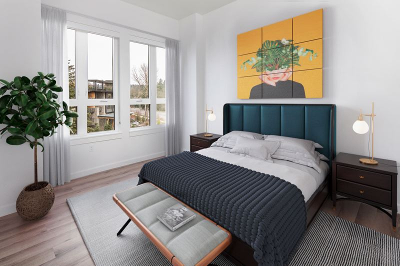 COURTESY PHOTO: MERCATO GROVE - There are 206 apartments that will open in spring at Mercato Grove. Pictured here is a model unit.