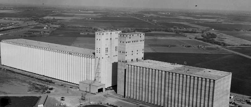 COURTESY PHOTO - Cecil Denney remembers the summer he spent working at a grain elevator in Oklahoma.