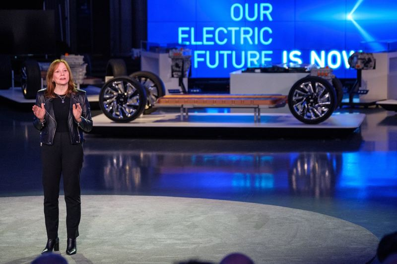 COURTESY GM - GM Chairman and CEO Mary Barra