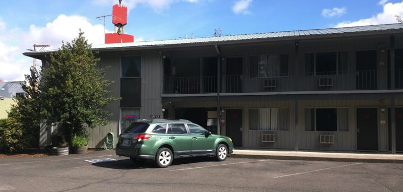 COURTESY PHOTO - Clackamas County Commissioners voted not to move forward with a housing project at the Red Fox Motel in Estacada.