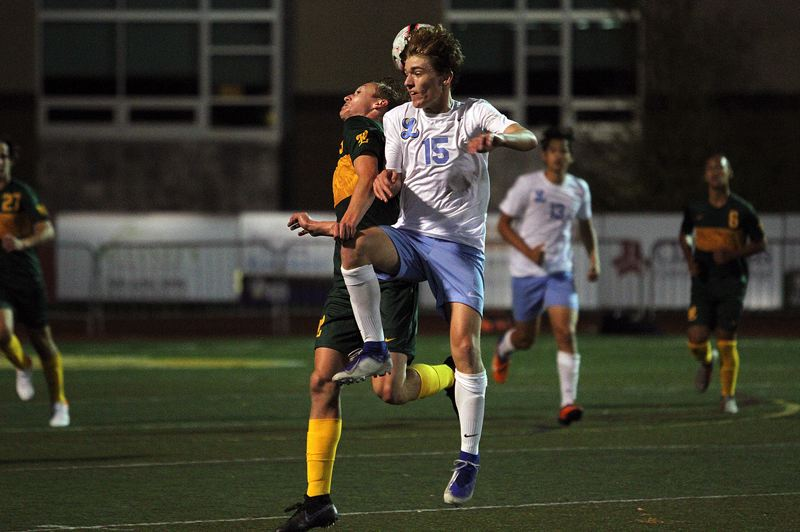 PMG PHOTO: MILES VANCE - Lakeridge's Sam Hardie is one of thousands of senior athletes across Oregon who wonder if they'll get a chance to play in their final prep season in 2021.