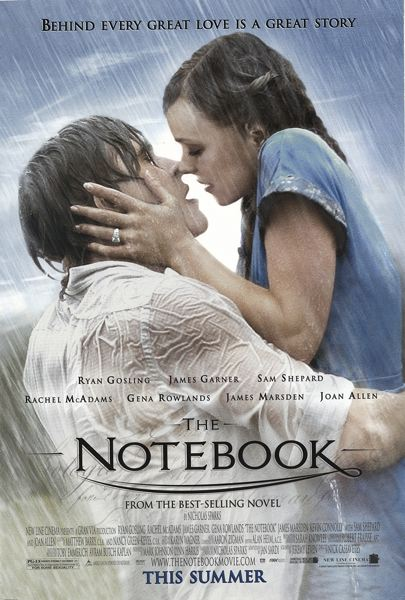 COURTESY PHOTO - The classic 2004 romantic drama 'The Notebook' will be one of the movies shown Feb. 14.