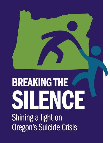 PMG GRAPHIC - Breaking the Silence is a project shining light on Oregon's epidemic of self-harm.