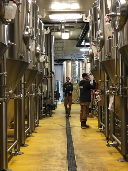 COURTESY: SUN RIVER BREWING CO. - Sunriver Brewing Company stands to benefit from new tax laws.