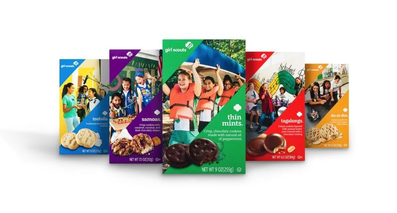 COURTESY PHOTO - All kinds of Girl Scout cookies will be sold online this year because of the COVID-19 pandemic.
