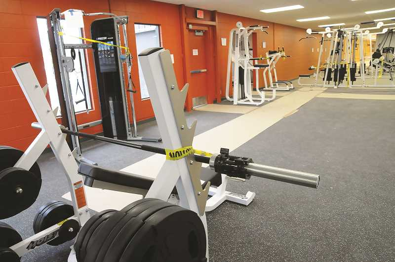 PMG FILE PHOTO - CPRD's fitness center began taking reservations last week for 45-minute workouts.