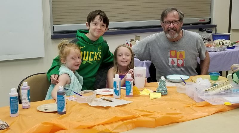 COURTESY PHOTO: TERRY ANN PULLEN - Many of the events hosted by the Gresham Senior Center allows members to bring their whole families.