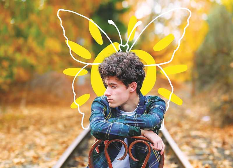 COURTESY PHOTO: PORTLAND GEAR - NHS student Hayden Fredrickson's vision for a clothing line has been taken up by a Portland company in an effort called Sunshine Studios.