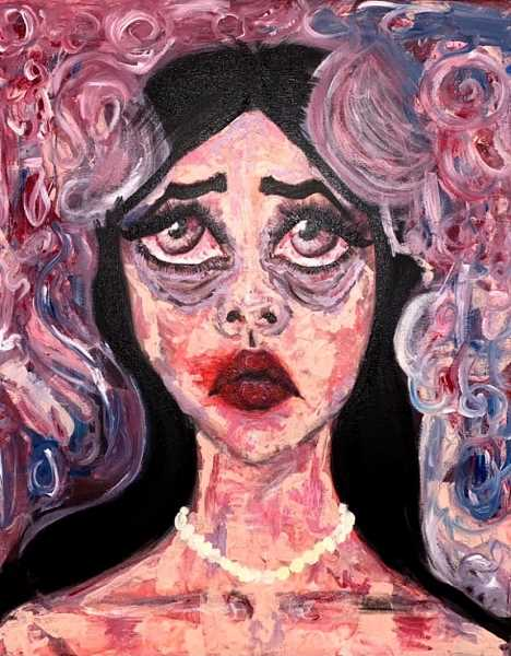 COURTESY PHOTO: WACA - Scholastic Art Awards Gold Key winner 'Victim of Introspect' by Lesly Arroyo.