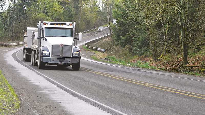 PMG FILE PHOTO - Increased traffic on rural roads designed for agricultural use has created hazards in north Marion County, especially since the opening of the Dundee Bypass. The county recently declared several roads that together link Yamhill county to I-5 as a safety cooridor.