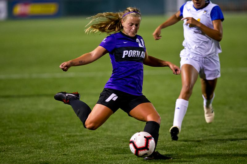 COURTESY PHOTO: UP ATHLETICS - Senior Elliott Winkelmann has played 53 games for Portland and is excited for the opportunity this spring to cap her soccer career with the Pilots.